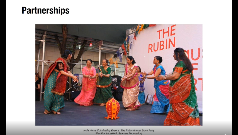 Screenshot of a webinar presentation.