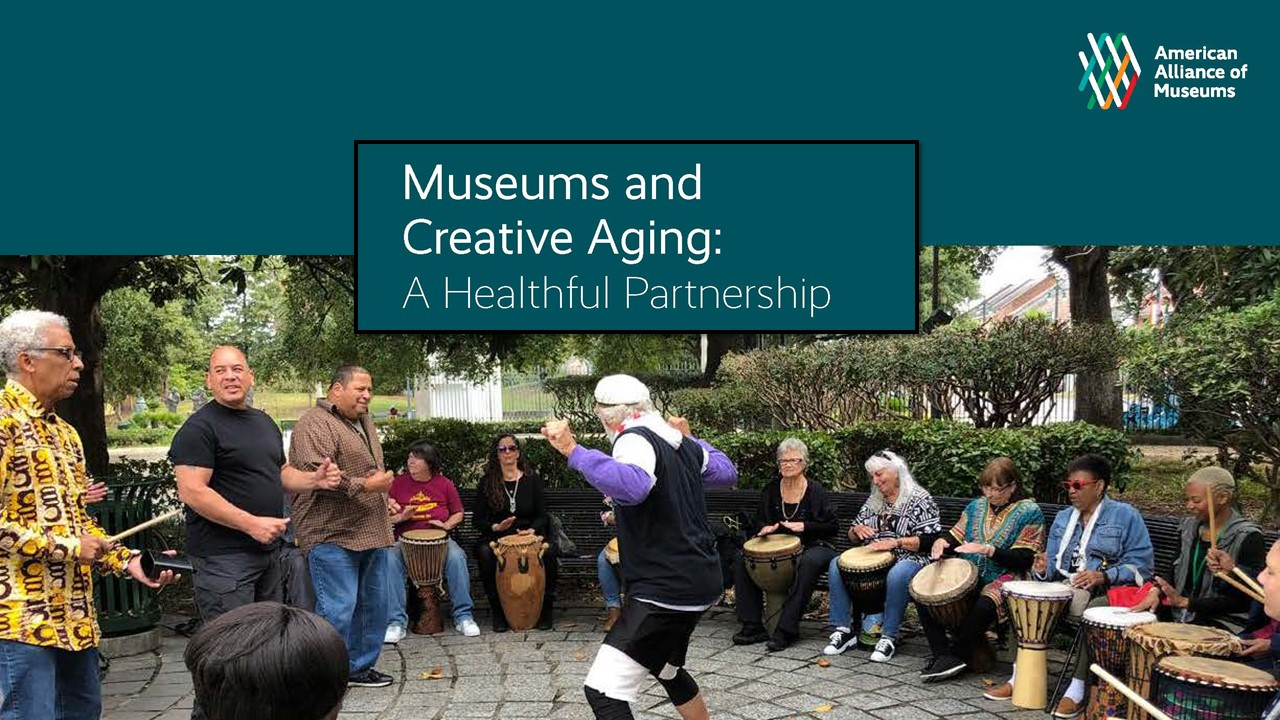 Cover art: Museums and Creative Aging: A Healthful Partnership